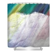Cloud Within Rainbow Shower Curtain