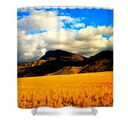 Clouds In The Mountains Shower Curtain