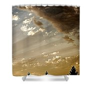 Clouds Of A Storm Shower Curtain