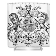 Coat Of Arms: Great Britain Shower Curtain