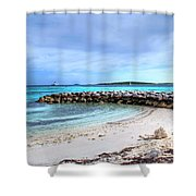 Coco Cay Shower Curtain