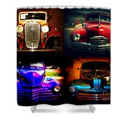 Collector Cars Shower Curtain