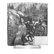 Colorado: Pikes Peak, 1867 Shower Curtain