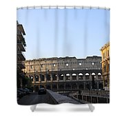 Colosseum Early Morning  Shower Curtain
