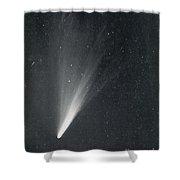 Comet West, 1976 Shower Curtain