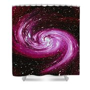 Computer Space Image Shower Curtain