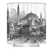Constantinople: St. Sophia Shower Curtain by Granger