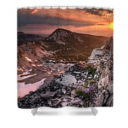 Continental Divide Shower Curtain