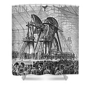 Corliss Steam Engine, 1876 Shower Curtain