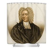 Cotton Mather, American Minister Shower Curtain