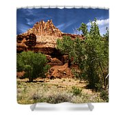 Cottonwood Castle Shower Curtain