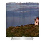 Covehead Lighthouse, Prince Edward Shower Curtain