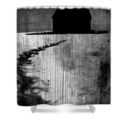 Crawling Home Blues  Shower Curtain