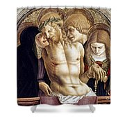 Crivelli: Pieta Shower Curtain