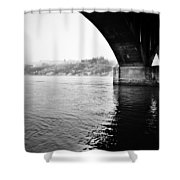 Cross Two Free Shower Curtain