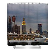 Cruisin By The City Shower Curtain