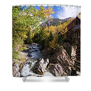 Crystal Mill Shower Curtain
