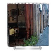 Curtains Billow In The Gentle Tuscan Shower Curtain
