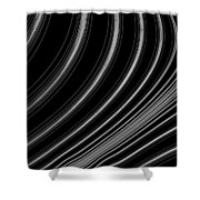 Curve Art Shower Curtain