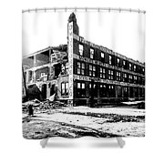 Cyclone Damage, 1896 Shower Curtain