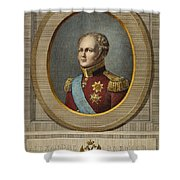 Czar Alexander I Of Russia Shower Curtain