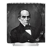 Daniel Webster Shower Curtain by Photo Researchers