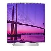Dartford Bridge Shower Curtain