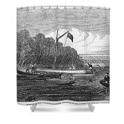 David Livingstone (1813-1873) Shower Curtain by Granger