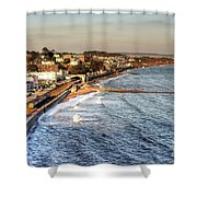 Dawlish Sea Wall Shower Curtain