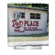 Dell's Place Shower Curtain