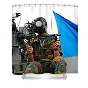 Demonstration Of The Mistral Surface Shower Curtain