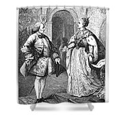 Denis Diderot (1713-1784) Shower Curtain