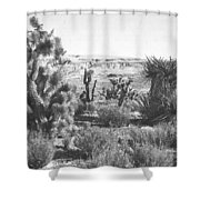 Desert Greenery Shower Curtain