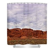 Desert Walls Shower Curtain