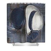 Deux Chapeaux Shower Curtain