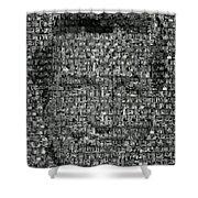 Dick Van Dyke Mosaic Shower Curtain