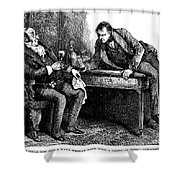 Dickens: Martin Chuzzlewit Shower Curtain