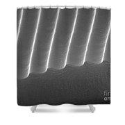 Diffraction Grating Sem Shower Curtain