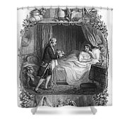 Dining, 19th Century Shower Curtain