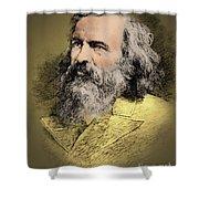 Dmitri Mendeleev, Russian Chemist Shower Curtain