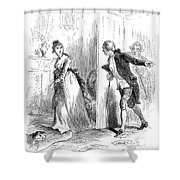 Dolley Madison (1768-1849) Shower Curtain