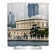 Dolmabahce Palace In Istanbul Shower Curtain