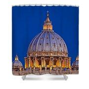 Dome San Pietro Shower Curtain by Brian Jannsen