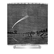 Donatis Comet, 1858 Shower Curtain