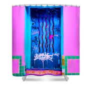 Doors Of Oaxaca Shower Curtain