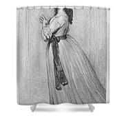 Dorothy Bland Jordan Shower Curtain by Granger