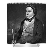 Douglas William Jerrold Shower Curtain