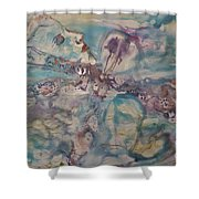 Dragonfly Dreaming Shower Curtain