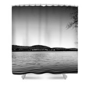 Dryden Lake New York Shower Curtain