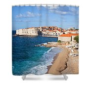 Dubrovnik Scenery Shower Curtain